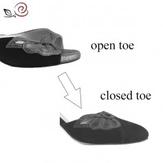 Closed toe