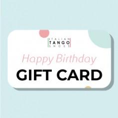 Geburtstag Geschenkkarte