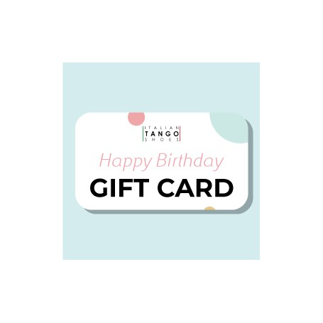 Card regalo Compleanno